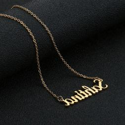 Personalized Name Necklace Custom Jewelry Style Font Gift Wo