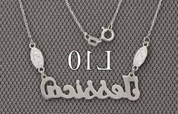 Personalized Name Necklace Guadalupe,Virgin Mary,925 Silver,