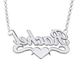 HACOOL Personalized Names Custom Name Necklace Pendant in 18