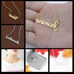 Personalized Handmade Necklaces With Any Custom Name For  Wo