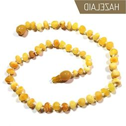 "Hazelaid  12"" Pop-Clasp Baltic Amber Super Butter Necklace"