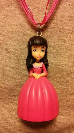 Sofia The First Vivian Figure Necklace Novelty Jewelry Colle