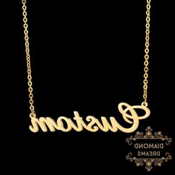 Stainless Steel Customize Fashion Name Necklace Personalized